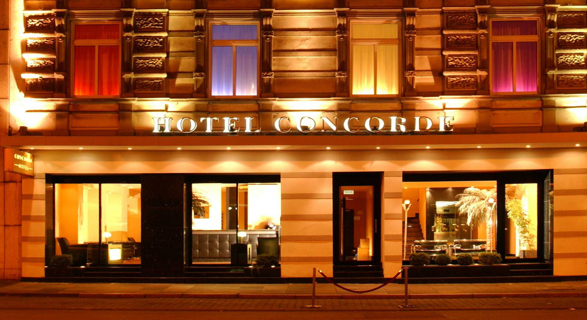 Hotel concorde in frankfurt book a design hotel in city for Designer frankfurt